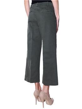 Pantaloni aspesi donna VERDE MILITARE - gallery 4