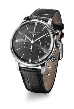 Locman 1960 cronografo uomo NERO