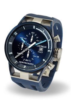 Locman montecristo cronografo BLU P0