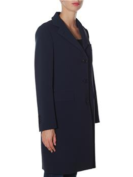 Cappotto aspesi donna jersey BLU