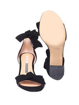 Sandalo chiarini con lacci NERO