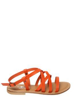Sandalo portofino golf ARANCIO