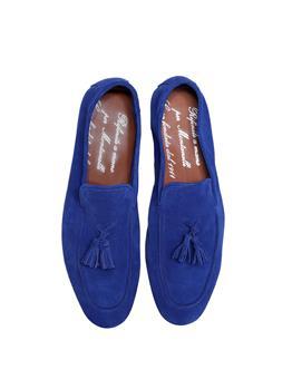 Scarpa pelle con nappine BLUETTE