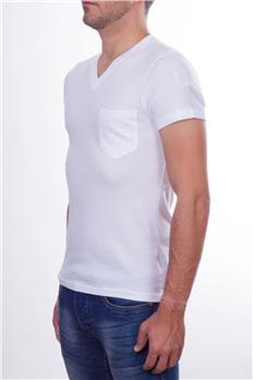 Blauer t-shirt uomo scollo BIANCO P6
