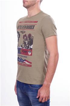 Blauer t-shirt giro collo uomo BEIGE P6