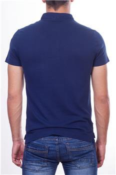 Blauer polo uomo con tasca BLU P6