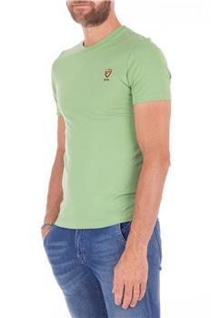 Blauer t-shirt uomo mezza VERDE