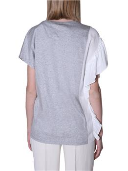 T-shirt twin set GRIGIO MELANGE