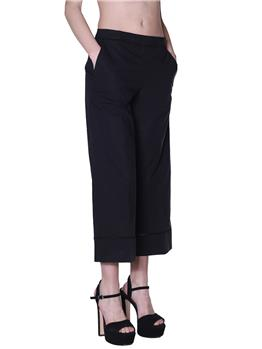 Pantalone twin set donna NERO