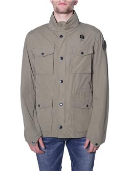 Field jacket blauer uomo VERDE MILITARE