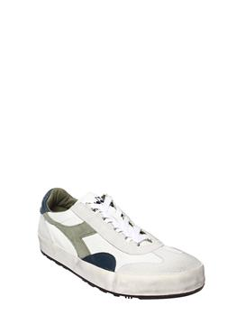 Diadora original uomo vintage GREEN OIL