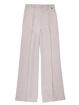 Pantaloni twin set classici NOUGAT