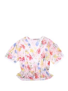 Camicia twin set floreale FIORI DI CAMPO