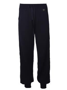 Pantalone twin set  canyon NERO