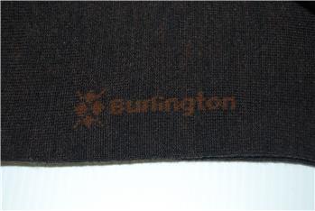 Calza burlington tinta unita MARRONE
