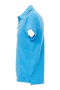 Polo blauer classica CELESTE SCURO P4