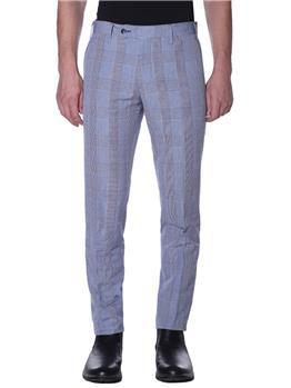 Pantalone golf fantasia BIANCO E BLU