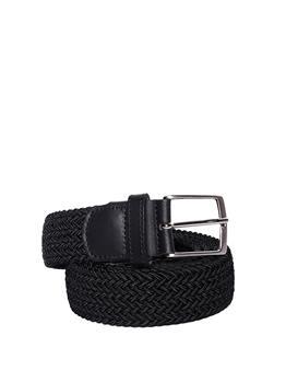 Cintura intrecciata elastica NERO