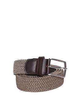 Cintura intrecciata elastica BEIGE