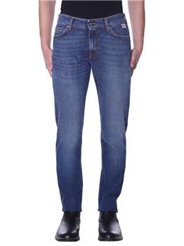 Jeans roy rogers uomo 5 tasche LAVAGGIO MEDIO
