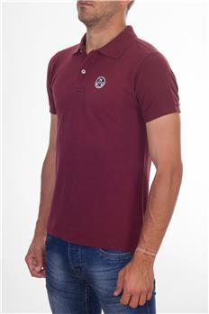 Polo north sails uomo BORDEAUX P2