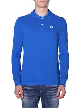 Polo north sails uomo BLUETTE