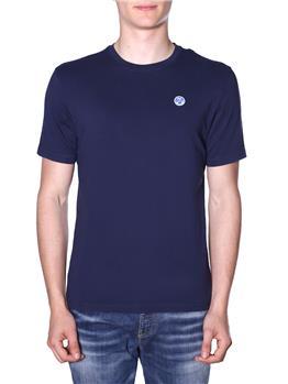 T-shirt north sails uomo BLU
