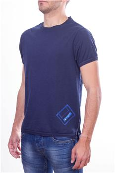North sails t-shirt giro collo BLU P6