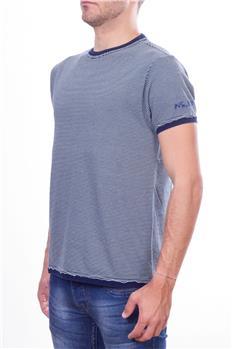 North sails t-shirt uomo riga BIANCO E BLU P6