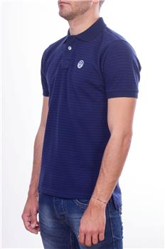 North sails polo uomo rigata BLU E BLUETTE P6