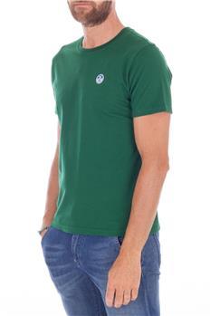 North sail t-shirt uomo VERDE