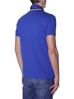 Polo colmar collo rigato BLUETTE