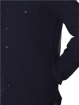 Camicia aspesi stretch BLU
