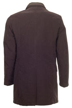 Cappotto aspesi con interno MARRONE SCURO - gallery 3