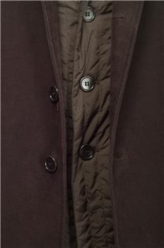 Cappotto aspesi con interno MARRONE SCURO - gallery 4