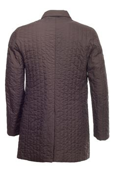 Cappotto aspesi con interno MARRONE SCURO - gallery 7