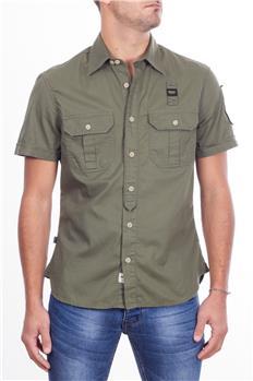 Camicia blauer uomo militare VERDE