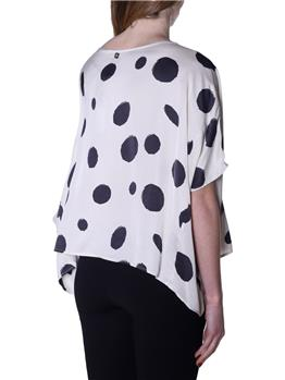 Blusa manila grace stampa OFF WHITE