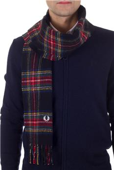 Sciarpa fred perry scozzese VERDE Y9