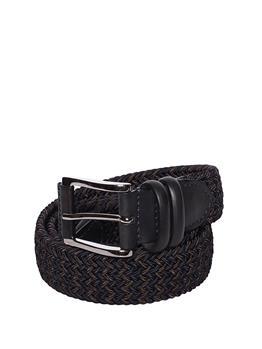 Cintura intrecciata classica MARRONE