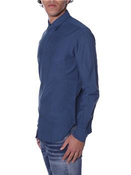 Camicia aspesi uomo leggera BLU - gallery 2