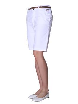 Bermuda chino superdry donna WHITE