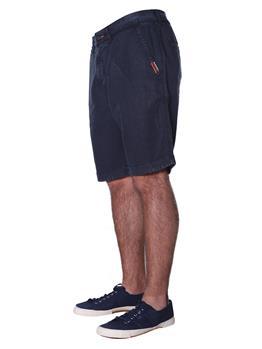 Bermuda superdry uomo lino GRAPHITE NAVY