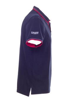 Polo ciesse piumini stretch BLU P5