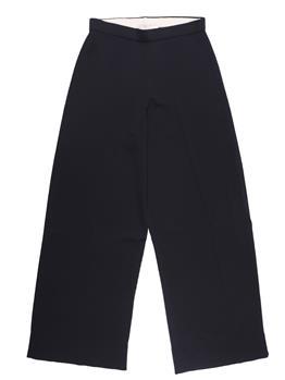 Pantalone liviana conti bordo NERO