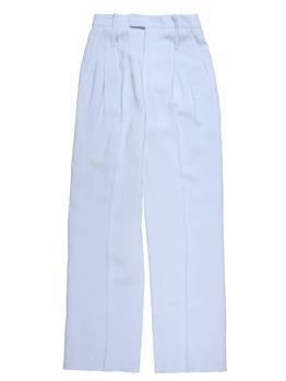 Pantalone liviana conti ampio CELESTE MEDIO