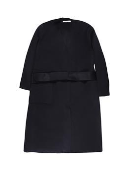Cappotto liviana conti lungo NERO