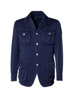Field jacket golf montanelli BLU