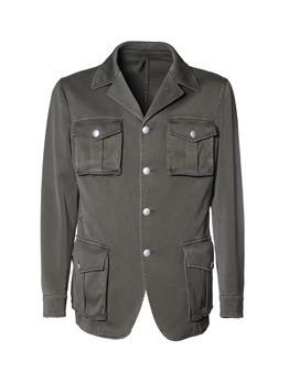 Field jacket golf montanelli VERDE MILITARE