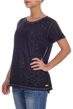 Superdry t-shirt donna numero GRIGIO ANTRACITE
